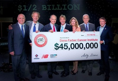 The Pan-Mass Challenge (PMC) revealed a record-setting gift of $45 million to Dana-Farber Cancer Institute, bringing the organization's P36-year fundraising total to a half-billion dollars raised for cancer research and patient care.