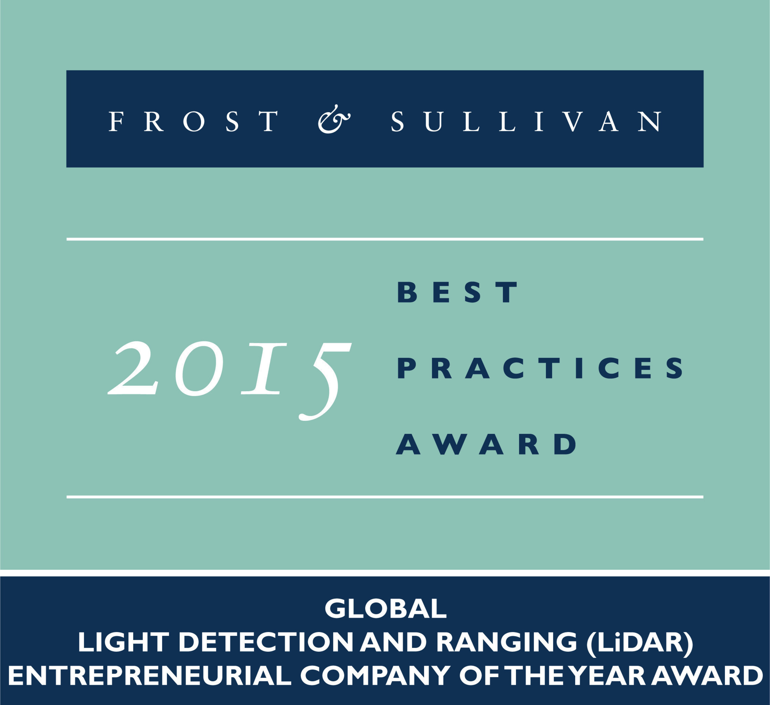 Frost & Sullivan Applauds Quanergy for Developing Innovative LiDARs that Address the Shortcomings