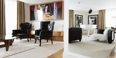 John Lennon Suite at Hard Days Night Hotel in Liverpool, a newly acquired property by Millennium Hotels and Resorts.