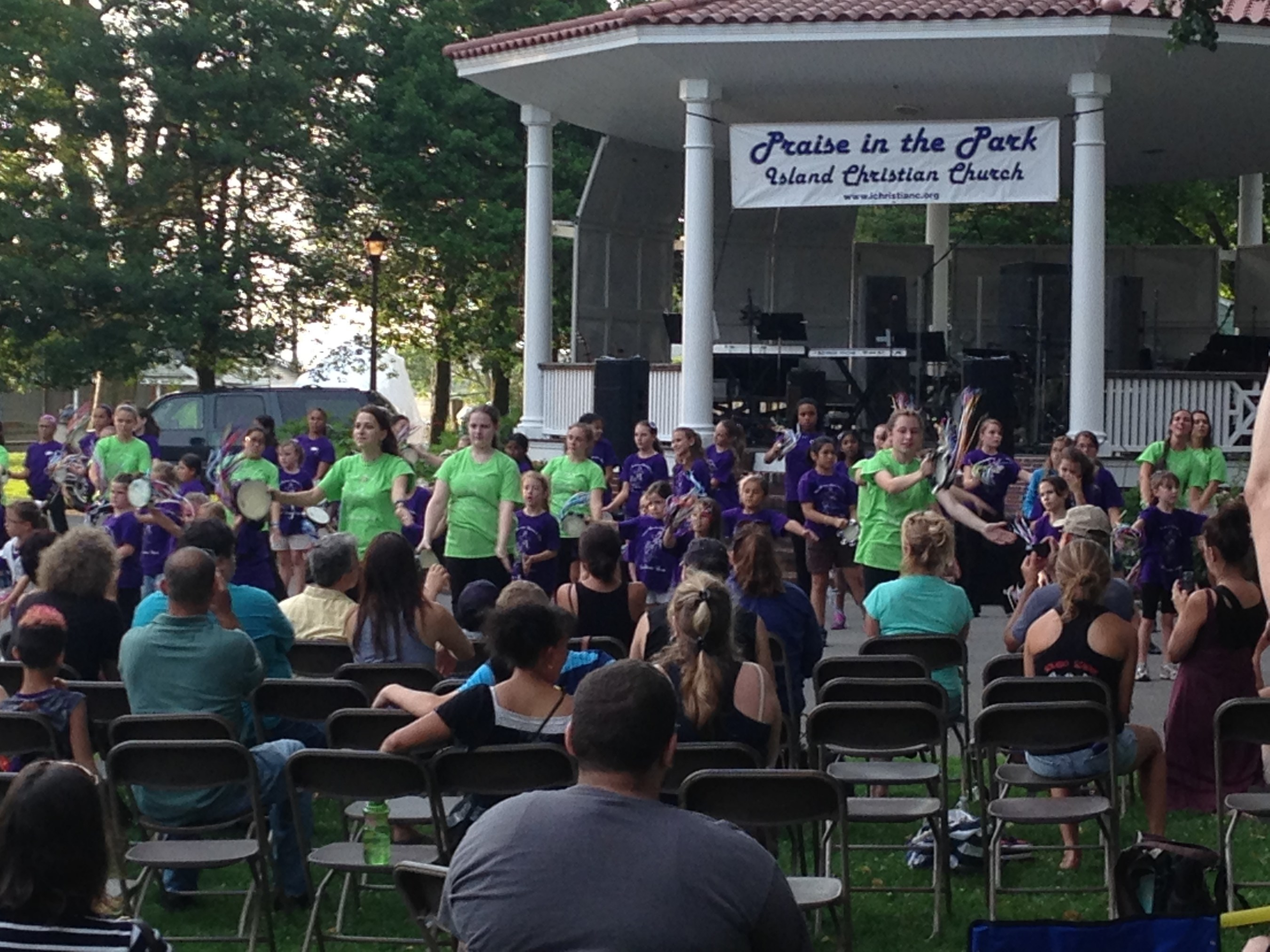 Island Christian Church Hosted Annual Praise in the Park Celebration