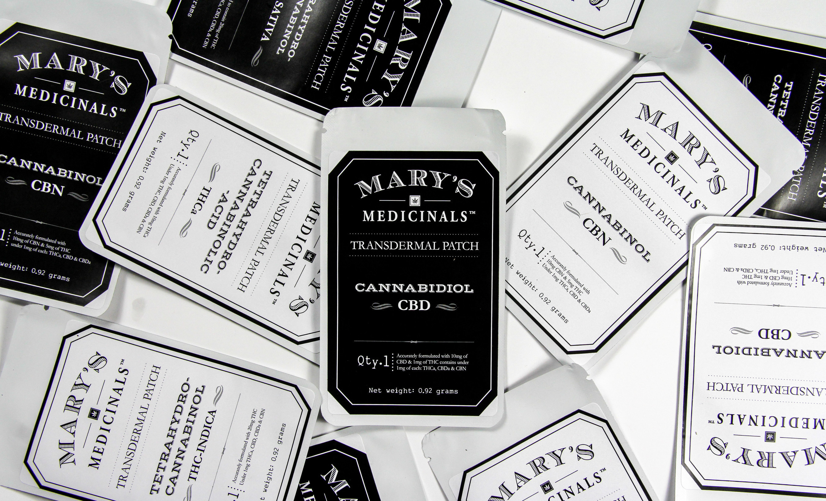 Mary's Medicinals Transdermal Cannabis Patches (Photo Credit: Alex L. Person)