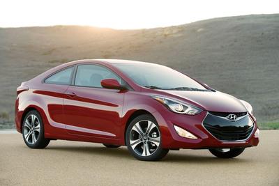 2014 Hyundai Elantra Coupe Ups Fun Factor.  (PRNewsFoto/Hyundai Motor America)