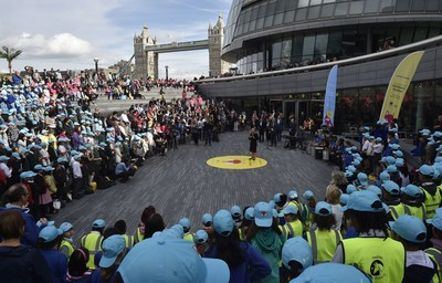 Celebratory Children's Festival at London's City Hall to mark the launch of The New London Curriculum for primary schools, supported by Russian philanthropist Yelena Baturina and The Mayor's Fund for London