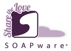 Share the Love With SOAPware.  (PRNewsFoto/SOAPware, Inc.)