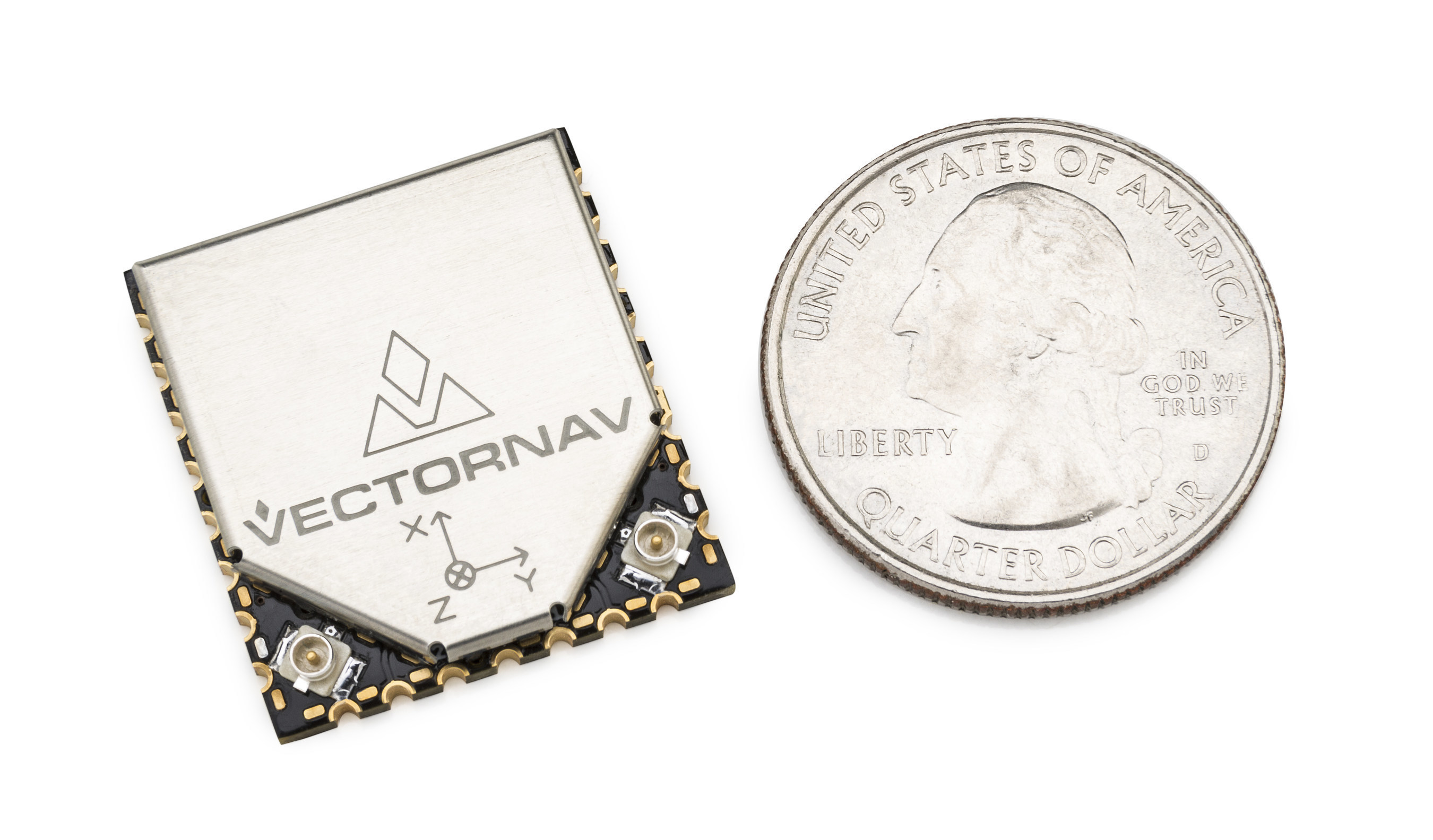 VectorNav Introduces Surface Mount VN-300 Dual Antenna GPS/INS at AUVSI 2015