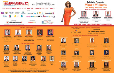 PR Newswire to Sponsor 2014 Multicultural TV Summit.  (PRNewsFoto/PR Newswire Association LLC)