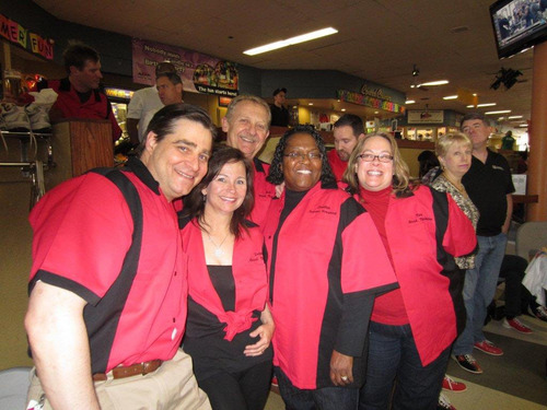 University of the Rockies Leadership Team Participates in JA Bowl-A-Thon.  (PRNewsFoto/Bridgepoint Education)