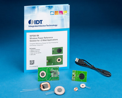 IDT Accelerates Adoption of Wireless Power in Ultra-Compact, Low-Power Applications.