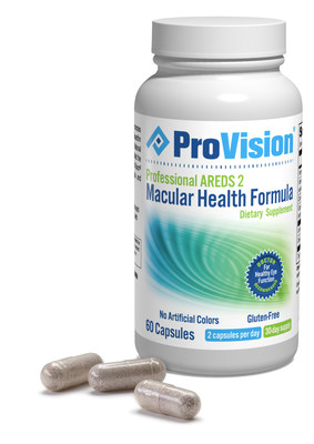ProVision's Professional Macular Health Formula for supporting eye health and vision wellness includes six key antioxidants from the AREDS 2 study calibrated in precise levels.