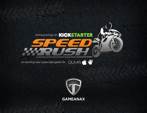SpeedRush on KickStarter. (PRNewsFoto/GameAnax Inc.)