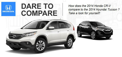Honda Manhattan Compares Their Current Models To The Top Competitors PRNewsFoto