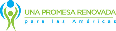 Una promesa renovada para las Americas logo.  (PRNewsFoto/A Promise Renewed for the Americas: Reducing inequities in reproductive, maternal, and child health)