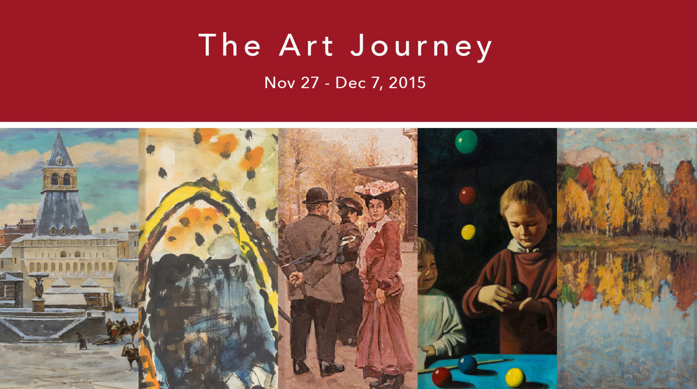 The Art Journey - 16 Auctions, 20 Countries, 2000 Artworks