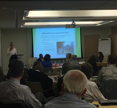 Rick Goodemann, executive director of Minnesota Housing Partnership and NRHC Member, explains the approach his organization has used to address the need for preserving rental housing in rural communities.