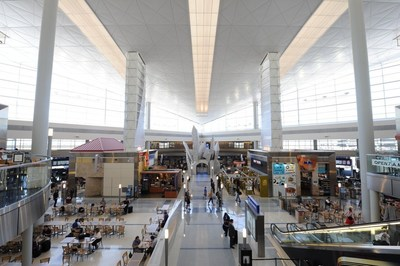 DFW Airport celebrates 10 Years of International Terminal D, Skylink and the Grand Hyatt.