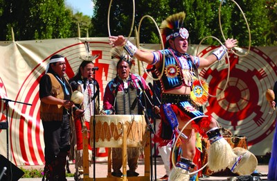During this 2015 season of Native Trails, experience American Indian song and dance in Scottsdale Civic Center Park with performances by acclaimed artists such as Derrick Suwaima Davis (Hopi/Choctaw), artistic director for Native Trails and seven-time hoop dance world champion. Performances take place from 12 to 1 p.m. most Thursdays and Saturdays Jan. 8 through April 4, 2015