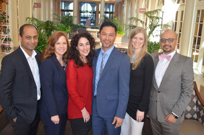 Members of the Huntington Pulmonary Medical Group include: Ashish Patel, MD, Mendy Gonzalez, NP, Melinda Medeiros, NP, Daryl Banta, MD, Brooke Chandrasoma, MD, Ayman Saad, MD (Not pictured: Michael Gurevitch, MD & Lauren Delgado, NP)
