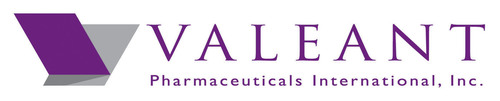 Valeant Pharmaceuticals International, Inc. Logo.  (PRNewsFoto/Bausch + Lomb)