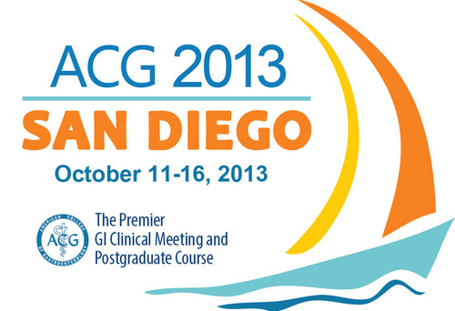 American College of Gastroenterology Scientific Meeting.  (PRNewsFoto/American College of Gastroenterology)