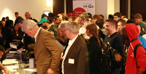 LG Android Developers' VIP Event in San Francisco.  (PRNewsFoto/LG Electronics USA)