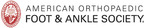 American Orthopaedic Foot & Ankle Society logo