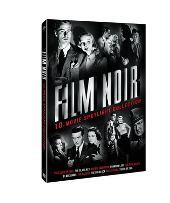 From Universal Studios Home Entertainment: Film Noir: 10-Movie Spotlight Collection (PRNewsFoto/Universal Studios Home Entertain)