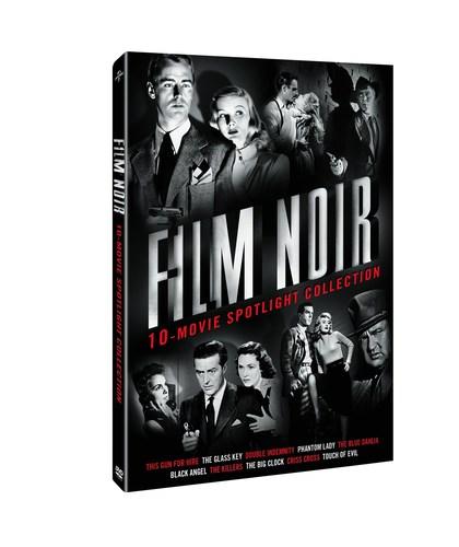 From Universal Studios Home Entertainment: Film Noir: 10-Movie Spotlight Collection (PRNewsFoto/Universal ...