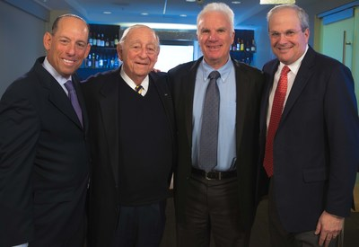"Executive leadership team members for Southern and Glazer's (from left to right): Wayne E. Chaplin, President and Chief Executive Officer of Southern; Harvey R. Chaplin, Chairman of Southern; Bennett Glazer, Chairman of Glazer's; and Sheldon (""Shelly"") Stein, President and Chief Executive Officer of Glazer's."