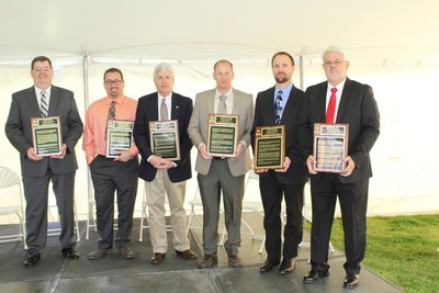 Lincoln Tech - Nashville, formerly Nashville Auto-Diesel College, inducted six new members into the school's Hall of Fame: (l to r) Ricky Cook; Jeremy Gannon; Gary Davis; David McNamee; Wasey Ryder; Steve Walker