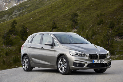 The BMW 2 Series Active Tourer: more than 5,300 vehicles sold in February 2015.