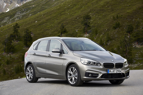 The BMW 2 Series Active Tourer: more than 5,300 vehicles sold in February 2015. (PRNewsFoto/BMW Group)