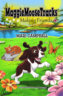 MaggieMooseTracks Making Friends book cover.  (PRNewsFoto/Mari Campbell)