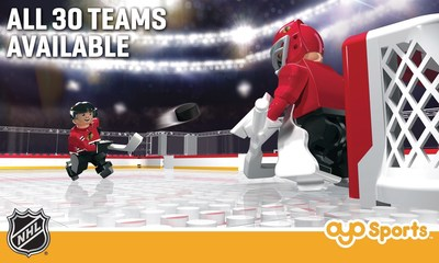 OYO Sports NHL(R) Gametime Hockey Rink and NHL(R) Backyard Hockey Rink bring the game of hockey to life