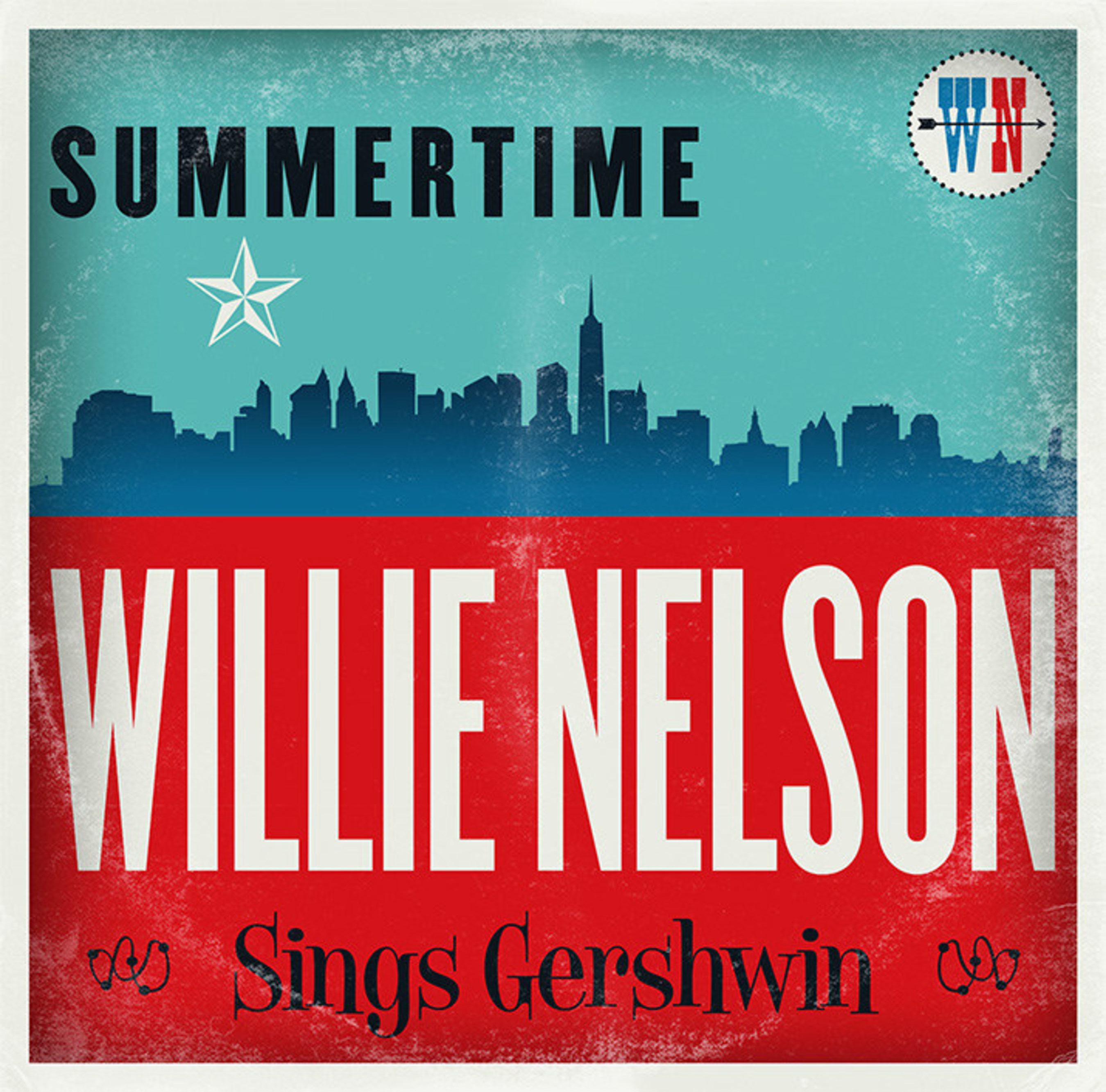 Legacy Recordings Set to Release Summertime: Willie Nelson Sings Gershwin on Friday, February 26, 2016
