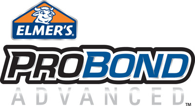 Elmer's® introduces ProBond Advanced™, the first heavy-duty acrylic adhesive that won't foam up.