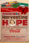 Stater Bros. Harvesting Hope in our Community Logo.  (PRNewsFoto/Stater Bros. Markets)