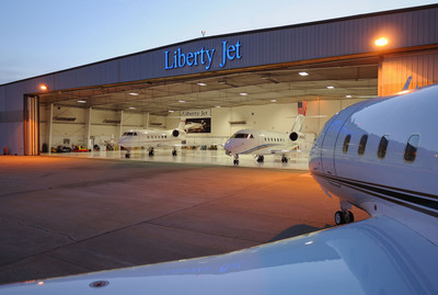 Liberty Jet Management's state of the art 60,000 sq ft New York corporate facility.  (PRNewsFoto/Liberty Jet Management)