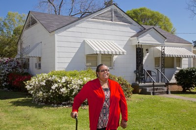 Willie Mae Bass of Natchez, Mississippi, was awarded a Special Needs Assistance Program (SNAP) grant of more than $4,700 to replace her home's roof. She worked with the City of Natchez to complete her application. SNAP grants are awarded on a first-come, first-served basis by Home Bank and other participating member institutions of the Federal Home Loan Bank of Dallas.
