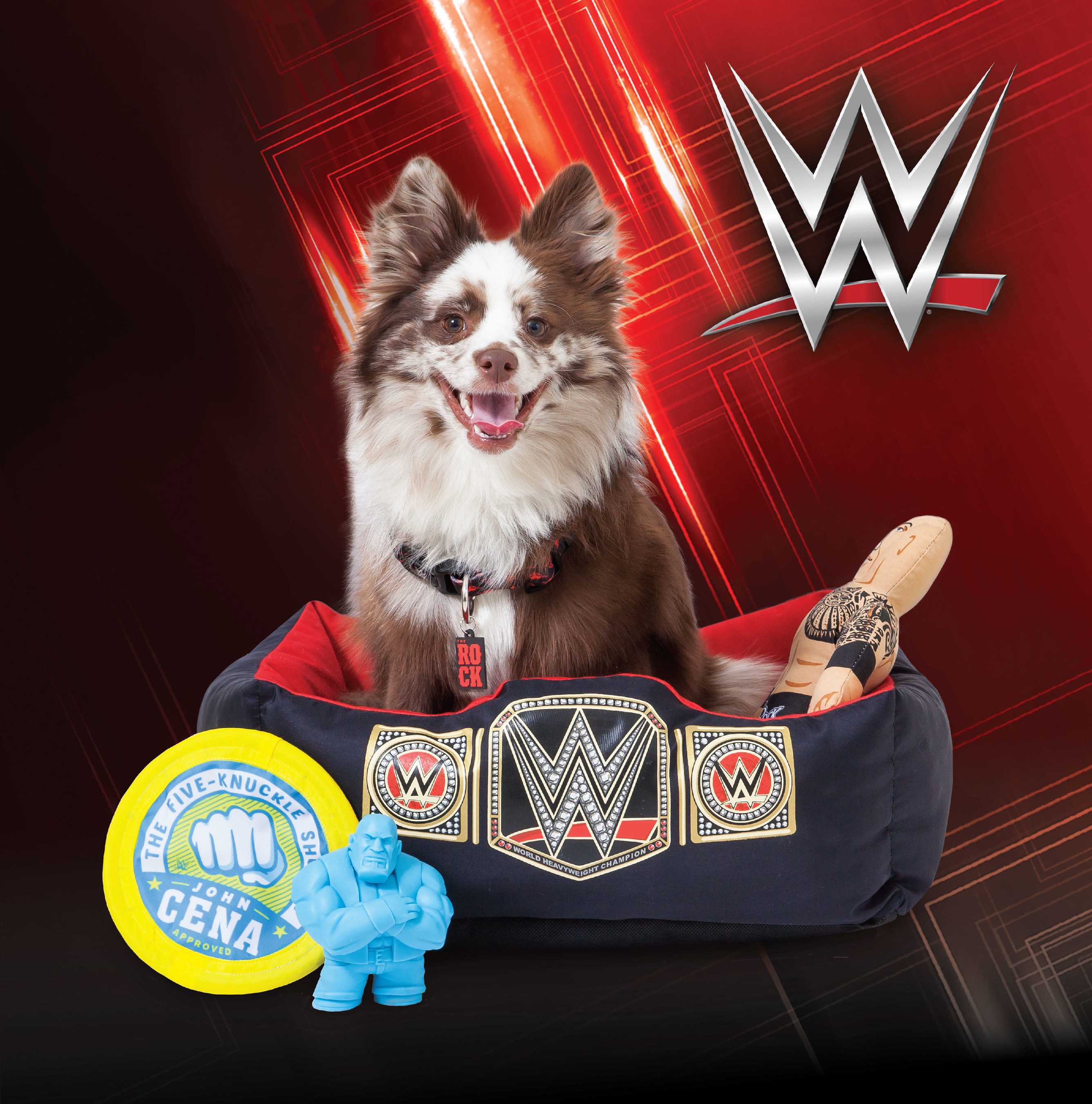 WWE' Pet Product Collection By Petmate' Is Now Available At Retail