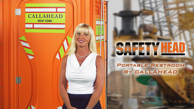 The Safety Head Portable Toilet