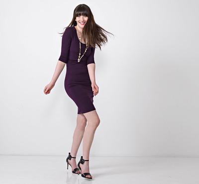 Lysse Marais Dress featuring BackBeautiful(TM) available in June in 7 colors - $168.  (PRNewsFoto/Lysse)
