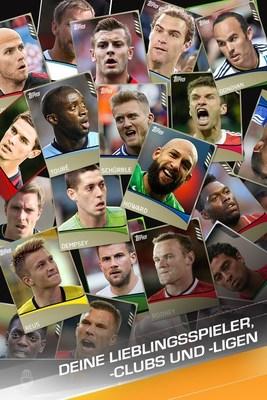 Eine Sammlung von Spielerkarten und deckt Superstars fur alle drei Ligen. (PRNewsFoto/The Topps Company, Inc.)
