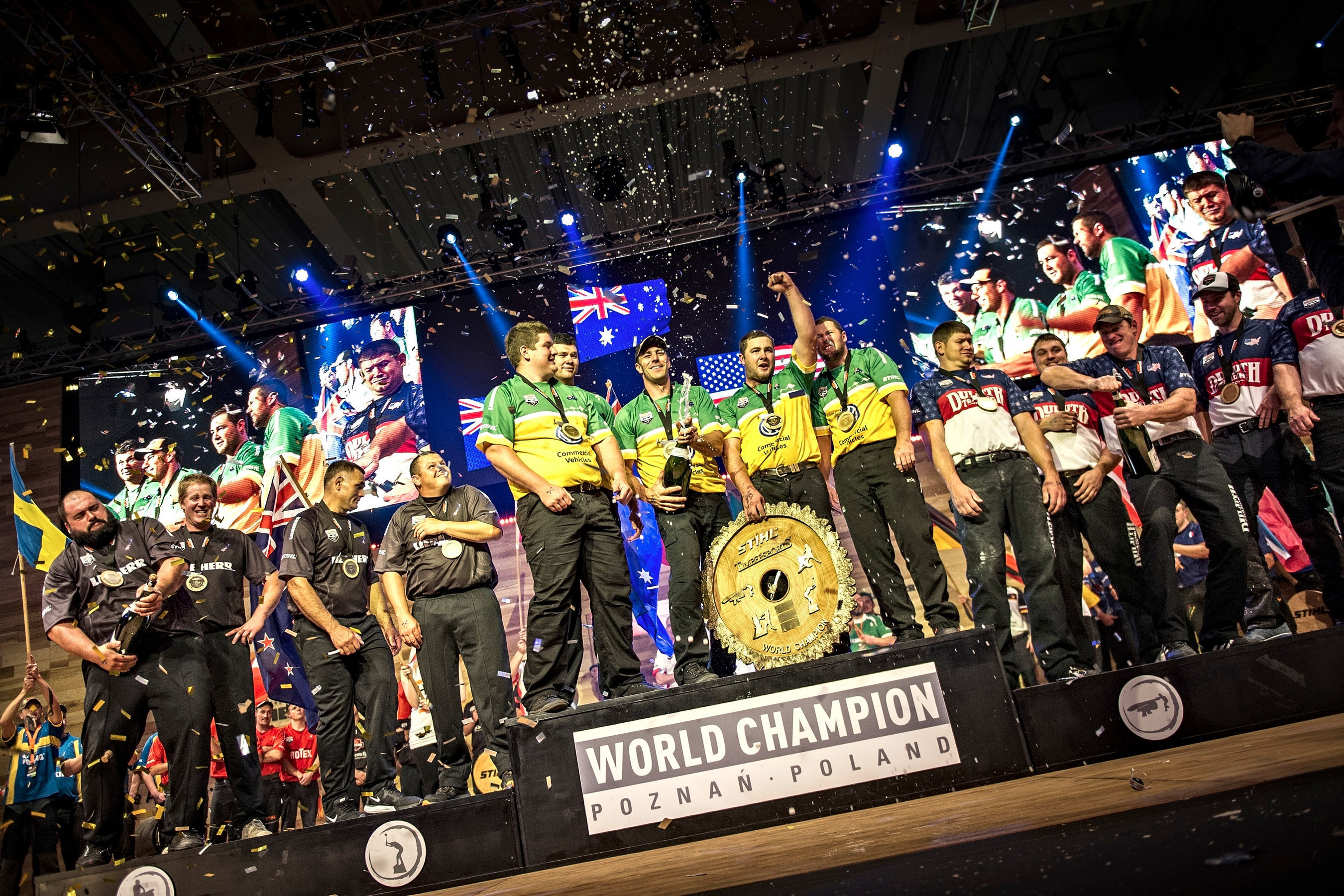 Spectacular Results at STIHL TIMBERSPORTS' World Championship 2015