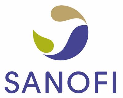 Sanofi logo.
