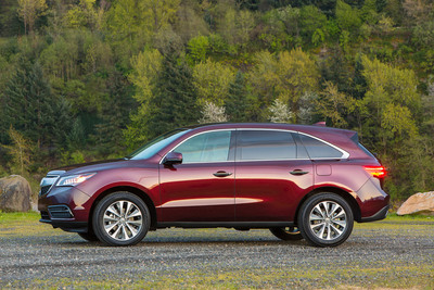 U.S. News & World Report Names Acura MDX 2014 Best Luxury 3-Row SUV for Families