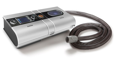 ResMed VPAP COPD and H5i Humidifier with ClimateLine Oxy tubing.  (PRNewsFoto/ResMed)