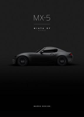 Mazda Previews MX-5 Miata Speedster Evolution and MX-5 RF Kuro for 2016 SEMA