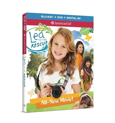 The all-new action adventure, American Girl: Lea to the Rescue, which debuts on Blu-ray(TM) Combo Pack, DVD, and On Demand on Tuesday, June 14th, 2016, from Universal Pictures Home Entertainment.