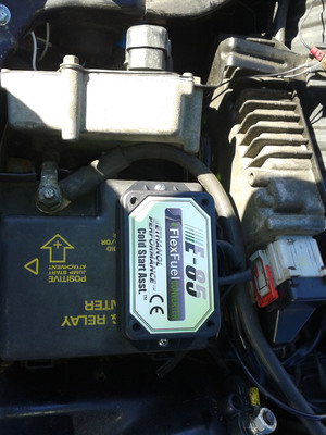 Flex Fuel Converter & Fuel Reduction H20 System.  (PRNewsFoto/LEAN FUELS Corporation)