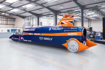 Geely Announced as Lead Partner for 1000mph BLOODHOUND Project #BloodhoundIsGo